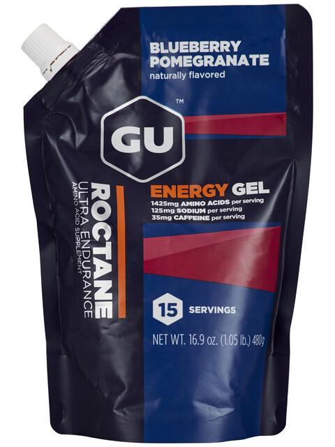 GU Energy Roctane - Nutrition sport - Blueberry Pomegranate 480g